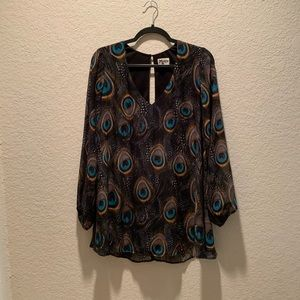 show me your Mumu lined tunic top, size small